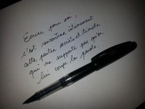 ecrire-pour-soi