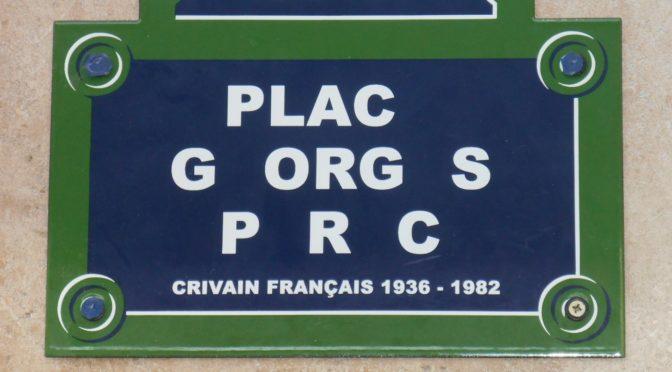 Georges Perec, sa vie, son œuvre