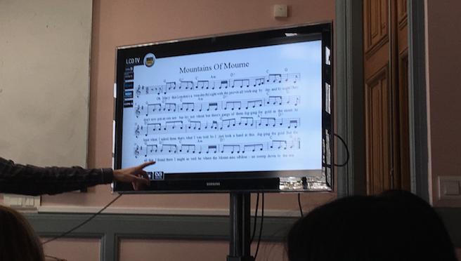 La nostalgie en classe de langue (séminaire de Simon Coffey 13/03/18)